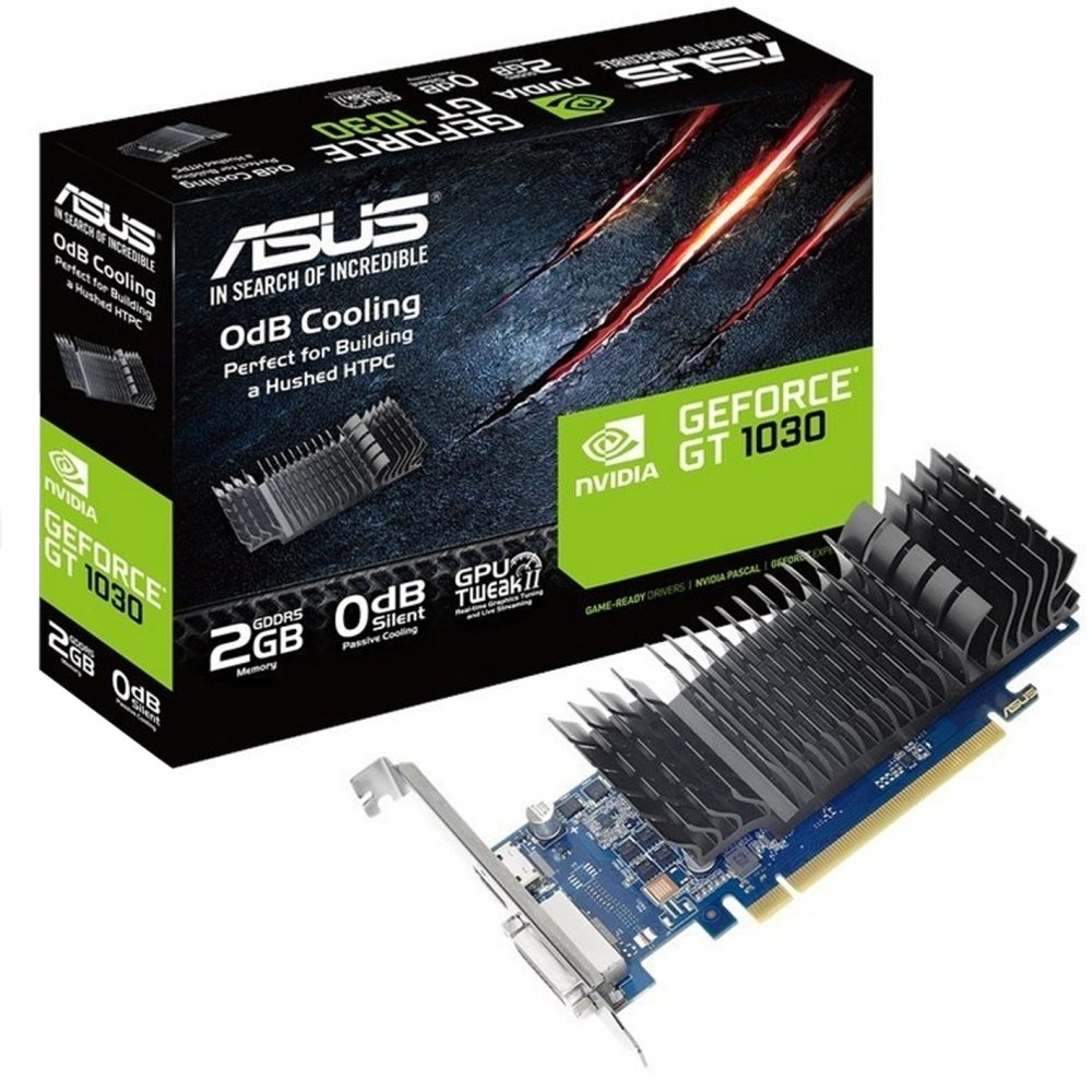 Scheda video asus gt710 sl 2gb ddr5 dvi-d hdmi hdcp