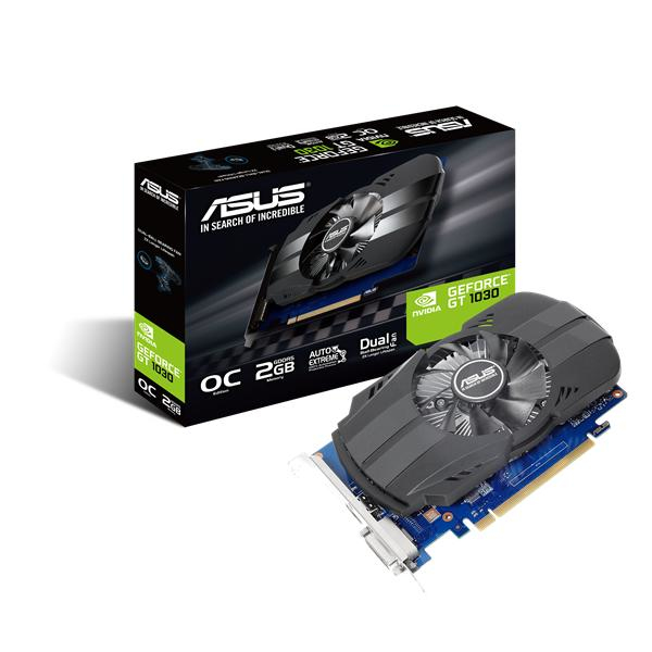 Scheda video asus ph gt1030 2gb gddr5 64bit dvi-d