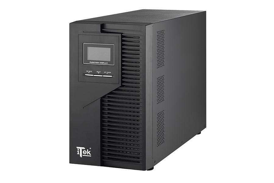 Ups kingpower 2000 - 2000va/1600w, on line, 6 batt, lcd, 8xiec, avr, rs232, usb, rj45, t block