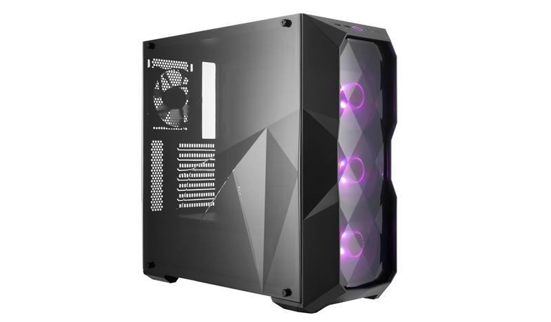 Case masterbox td500, 2usb3,audio i&o,2x 3.5