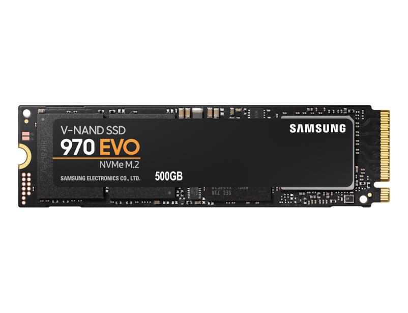 Ssd Samsung 500gb 970 evo m.2 nvme