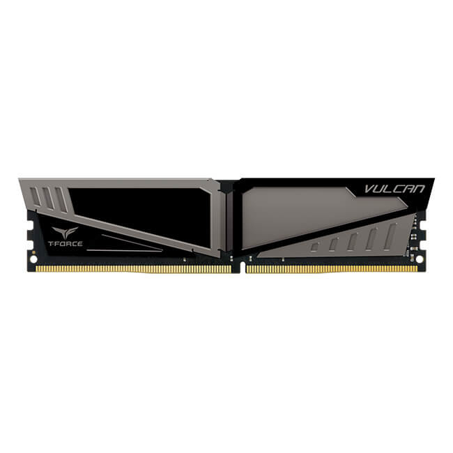 Team group vulcan gray d4 16gb (2x8gb) 2400mhz cl16-16-16-39 1.2v